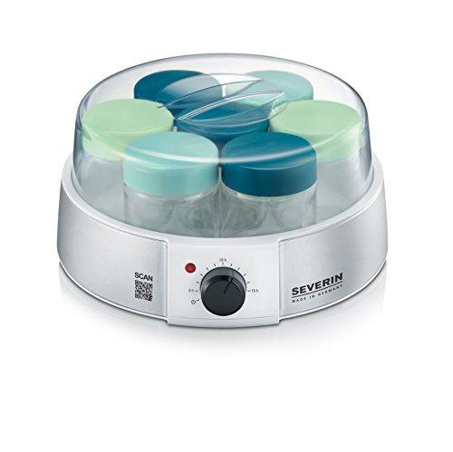 SEVERIN Yogurtera, Incl. 7 Tarros de 150 ml, Temporizador, JG3525,...