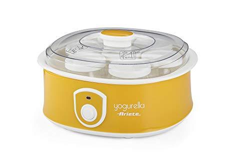 Ariete 617 - Yogurtera de 1.3 litros, 7 tarros de cristal con tapa, 20 W,...