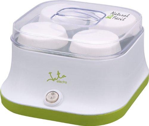 Jata YG523 Yogurtera para 4 Yogures sin Conservantes ni Aditivos Incluye 4...